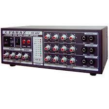 نصب آمپلی فایر و سیستم صوتی