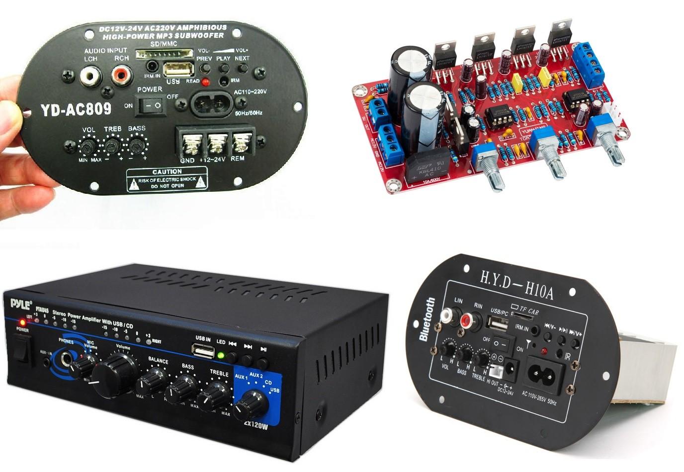 کیت آمپلی فایر ماشین سیستم صوتی